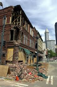 Seattle Earthquake Map by File Seattle Earthquake Damage To Cadillac Hotel 2nd Ave S In