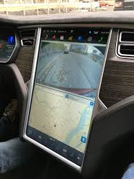 riding in a tesla with autopilot 2015 streets mn