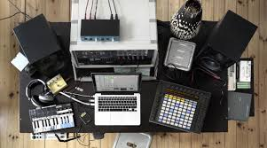 Diy Home Studio Desk by Ableton Push Live And A Nice Setup Studios Music Rooms