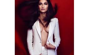 bare breast sonam kapoor goes bare breast for the sexiest vogue magazine s