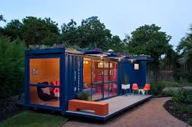 shipping container guest house in houses made of containers