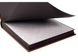 photo album black pages large silk lined leather photo album black pages epica