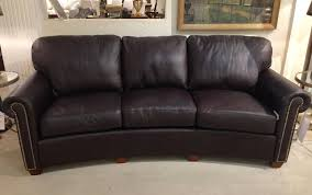 Curved Leather Sofas by Curved Leather Sofa Roselawnlutheran