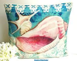 sea life pillow etsy