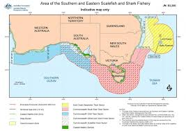 Shark Map Of The World by Southern And Eastern Scalefish And Shark Fishery Australian