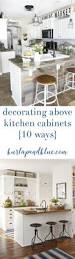 kitchen shelves ideas cabinet how to decorate kitchen cabinets lanterns on top of