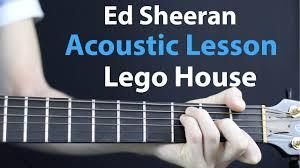lego house tutorial guitar easy ed sheeran lego house acoustic guitar lesson youtube