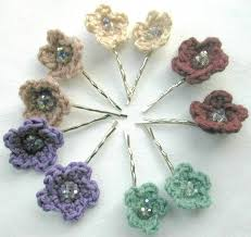 Crocheted Flowers - 101 best crochet flower projects images on pinterest crocheted