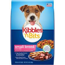 kibbles u0027n bits dog food small breed mini bits savory beef