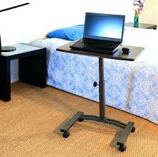 Mobile Laptop Desk Computer Cart On Wheels Mobile Laptop Desk Cart Table Stand