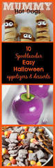 10 spooktacular and easy halloween appetizers and desserts