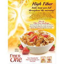 Breakfast Food Cereal Walmart Com by Fiber One Cereal Honey Clusters 14 25 Oz Box Walmart Com