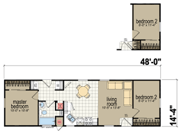 Mobile Home Floor Plans by Manufactured Homes Floor Plans Redman Homes