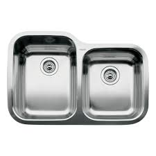 Blanco  Supreme   Bowl Undermount Sink Satin Polished - Kitchen sinks blanco
