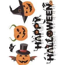 halloween kids background online get cheap vinyl halloween stickers aliexpress com