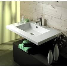 Rectangular Drop In Bathroom Sink by Rectangular Bathroom Sinks Premier Copper Products Rectangle