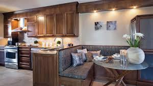 cuisine banquette ambiance détente dans la cuisine les idées de ma maison