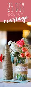 centre de table mariage fait maison diy déco gazon fleuri floral wedding and