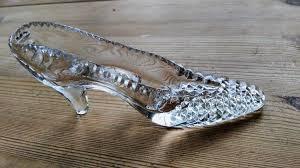 georgian tutbury glass shoe cinderella s slipper