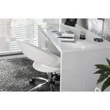 bureau laqué blanc bureau laqué blanc secrétaire blanc brillant lounge l120 x 60
