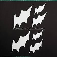 bats flying wall decor halloween diy craft passion