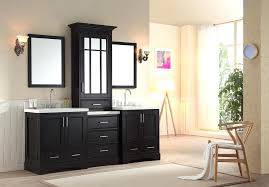 double sink vanity with middle tower double sink vanity kreditevergleichen club