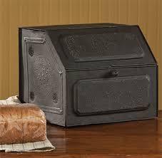 amazon com antique replica of tin bread box desk storage 21 190
