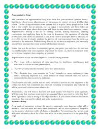 An Example Of Resume by What Is An Argumentative Essay Example 19 Collection Of Solutions