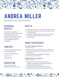 Networking Skills In Resume Blue Pattern Creative Resume Templates By Canva