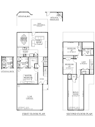 Narrow House Plan Plan 1481 Clarendon Floor Plan Two Story Plan Designed For Very