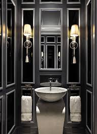 glamorous bathroom ideas small but mighty 100 powder rooms that make a statement