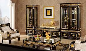 Modern Classic Living Room Furniture In Italian Style - Italian living room design