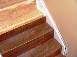 Laminate Floor End Cap The Idea Of Laminate Flooring Stair Nose Installation House Design