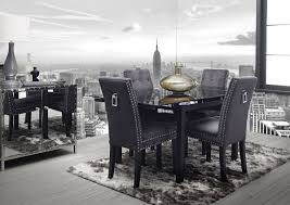 grey fabric dining room chairs alluring decor inspiration