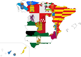 Spain On A Map Flags Spain Map