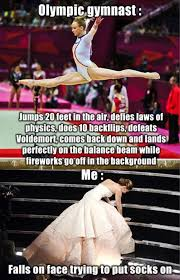 Gymnast Meme - olympic gymnast story and me funny pictures quotes memes