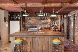 Rustic Kitchen Countertops by Rustic Kitchen Wall Decor Stainless Steel Exhaust Over Island