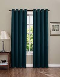 Teal Curtains Dark Teal Curtains Amazon Com
