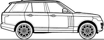 land rover drawing the blueprints com blueprints u003e cars u003e various cars u003e range