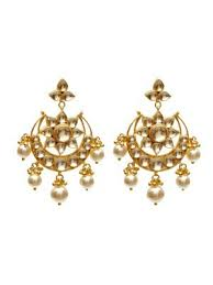 karigari earrings earrings floral kundan earrings online shopping india karigari