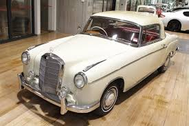 1960 mercedes benz 220s coupe