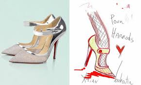 wedding shoes harrods christian louboutin valentino and more design the silver lining
