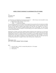 warning letter to employee format images letter samples format