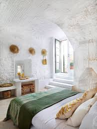 d馗orer les murs de sa chambre décoration mur chambre chapeaux de paille pailles et le chambre