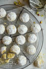 pistachio butter cookies vintage kitchen