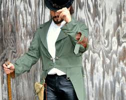 steampunk clothing etsy