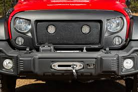 jeep light bar grill led lights