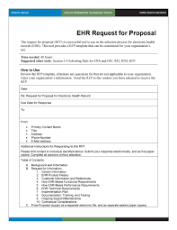 40 best request for proposal templates u0026 examples rpf templates