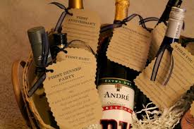 bridal shower wine basket bridal shower gift idea wine basket with poems
