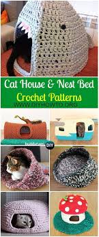 knitting pattern cat cave collection of crochet cat house nest bed patterns crochet cats